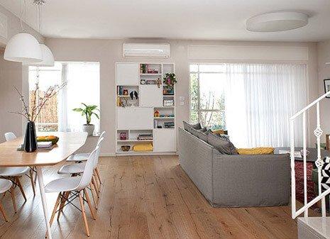 """בבית הכרם, דופלקס גן 170 מר, 6 חדרים גינה 100 מ""""ר, חנייה, 2, אמבטיות"""